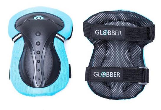Купить Комплект защитный подростковый для роликов GLOBBER синий XS (4897070180246)