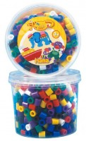 Термомозаика HAMA  Набор цветных бусин 600 шт. 7 цветов Maxi 3+ (028178857066)