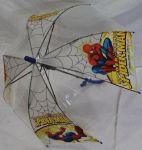 Детский зонт 'Spider Man' грибком прозрачный