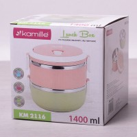 Подарок Ланч бокс Kamille 1400мл (KM2116)