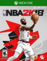 игра NBA 2K18 XBOX ONE