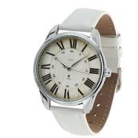 Подарок Часы наручные ZIZ 'Лондонский вокзал' белый (1405602)