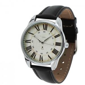Подарок Часы наручные ZIZ 'Лондонский вокзал' черный (1405601)