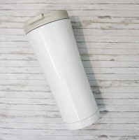 Термокружка металлическая ZIZ 'Белая' (420 мл)