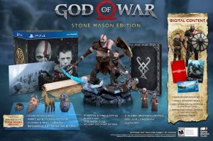 игра God of War Stone Mason Edition  (PS4)