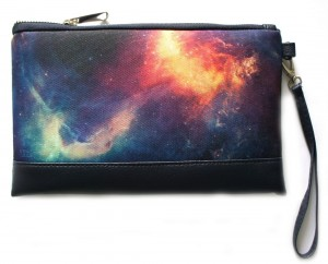 Подарок Клатч ZIZ 'Космос галактика' (25145)