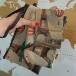 фото Клатч ZIZ 'Париж с воздушным шаром' (25142) #2