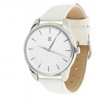 Подарок Часы наручные ZIZ 'Черным по белому' белый (1416302)