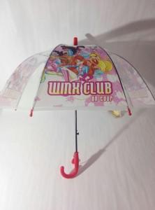 Детский зонт 'Winx' грибком прозрачный