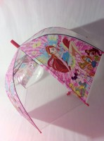 Детский зонт 'Winx club' грибком прозрачный