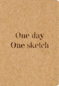 Книга Скетчбук 'One day, one sketch'