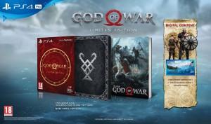 игра God of War Limited Edition (PS4, русская версия)
