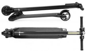 фото Электросамокат IconBIT 'Smart Carbon Scooter' Black #3