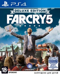 игра Far Cry 5 Deluxe Edition PS4