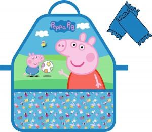 Фартук с нарукавниками Peppa Pig 'Пикник' (32048)