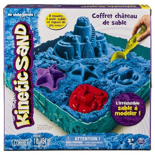 Купить Набор песка для детского творчества Wacky-tivities KINETIC SAND ЗАМОК ИЗ ПЕСКА, голубой' (71402B)
