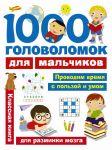 Книга 1000 головоломок для мальчиков