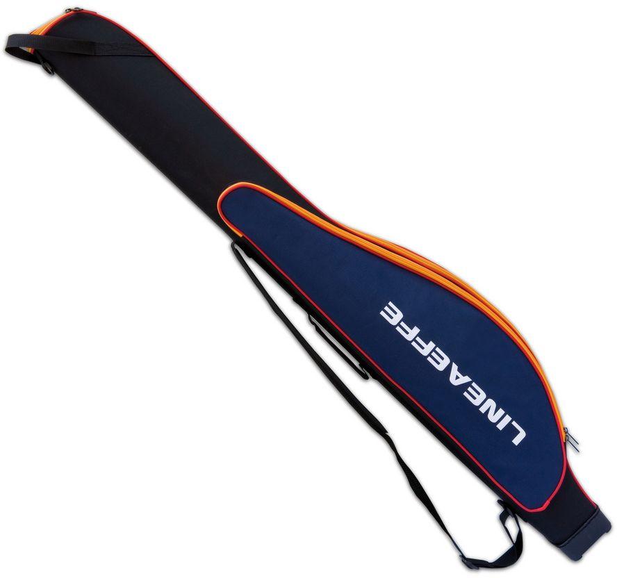Купить Чехол Lineaeffe жесткий для удилищ с катушками+наружный карман 135 см (6536013)
