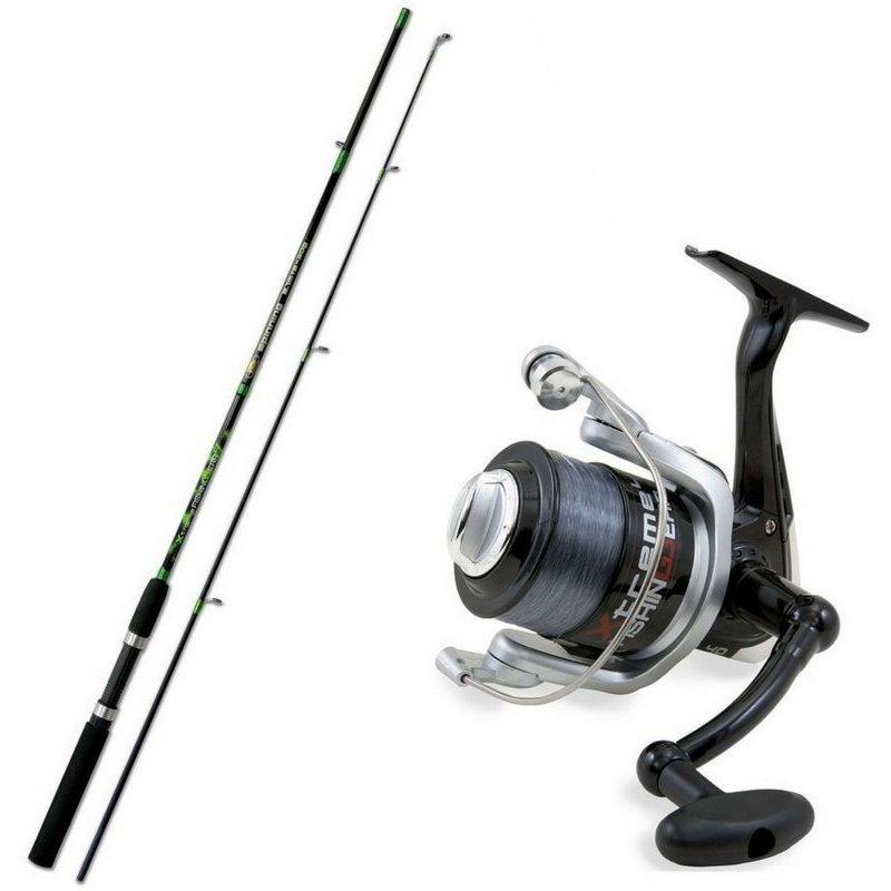 Купить Набор Lineaeffe Combo Extreme Fishing Spinning (спиннинг 2.10 м. 5-30 г + катушка FD20) (2015371)