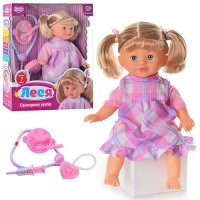 Интерактивная кукла Limo Toy 'Леся' (M 2143 RI)