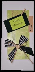 Вітальна листівка 'Happy Birthday!' (232410)