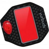 Наручный чехол для смартфона JBL YURBUDS iPhone 5 Ergosport LED Armband Black/Red (YBIMARMB02BNR)