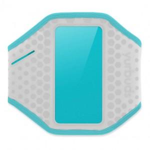 Наручный чехол для смартфона JBL YURBUDS iPhone 5 Ergosport Armband Gray/Aqua for women (YBWNARMB01GNA)