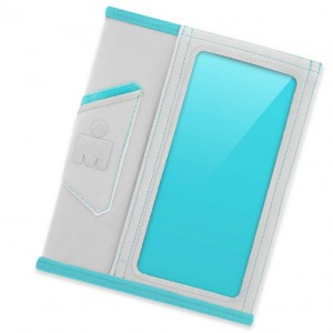 Наручный чехол для смартфона JBL YURBUDS iPhone 5 Ergosport Armsleeve - Gray/Aqua for women (YBWNARMS00GNA)