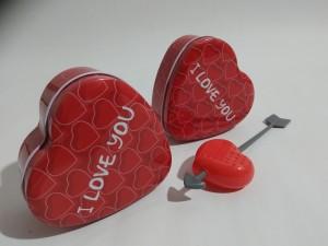 фото Набор Чай в жестяной коробочке в форме сердца и заварник 'сердце' #3