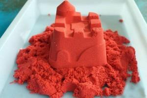 Кинетический песок оранжевый, 1 кг (top-276)