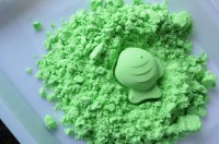 Кинетический песок зеленый, 1 кг (top-278)