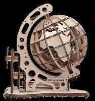 Механический конструктор из дерева Mr.Playwood 'Глобус' (10007)