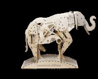 Механический конструктор из дерева Mr.Playwood 'Слон' (10004)