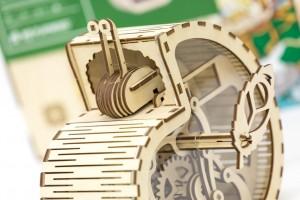 фото Механический конструктор из дерева Mr.Playwood 'Улитка-копилка' (10001) #6