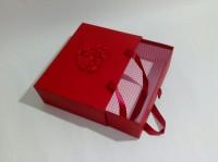 Подарок Подарочная коробка красная маленькая