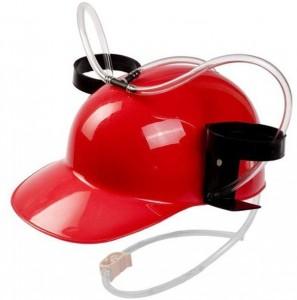 Шлем для пива красный (top-248)