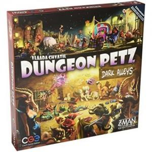 Настольная игра Czech Games Edition 'Питомцы Подземелий: Тёмные переулки (Dungeon Petz: Dark Alleys)'