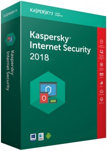 Программа Антивирус Kaspersky 'Internet Security Multi-Device 2018' 2 ПК 1 год Base (DVD-Box)