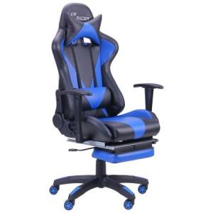 Кресло Art Metal Furniture VR Racer Magnus BN-W0109A черный/синий (515277)