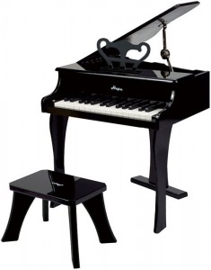 Фортепиано со стульчиком Hape E0320 (черный)