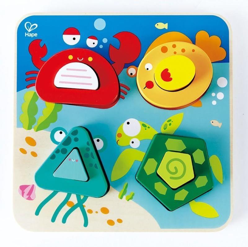 Купить Пазл Hape 'Подводный мир' (E0436)