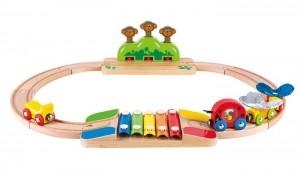 Набор Hape 'Моя маленькая железная дорога' (6943478016200)