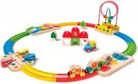 Набор железной дороги Hape 'Станция и ксилофон' (6943478016224)