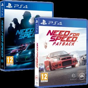 игра 'Need For Speed' + 'Need for Speed: Payback' (суперкомплект из 2 игр для PS4)