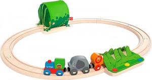 Набор железной дороги Hape 'Путешествие по джунглям' (6943478015012)