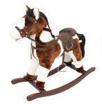 Игрушечный конь - качалка Rock My Baby с музыкой (JR614)