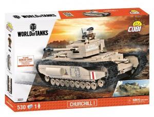 Конструктор COBI 'World Of Tanks Mk 4 Черчиль 1' 530 деталей (COBI-3031)
