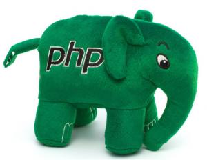 Подарок PHP Слон (Зеленый)