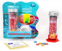 Набор для экспериментов 'Эксперименты в бутылке: цветные всплески'