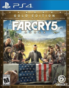 игра Far Cry 5 Gold Edition (PS4)